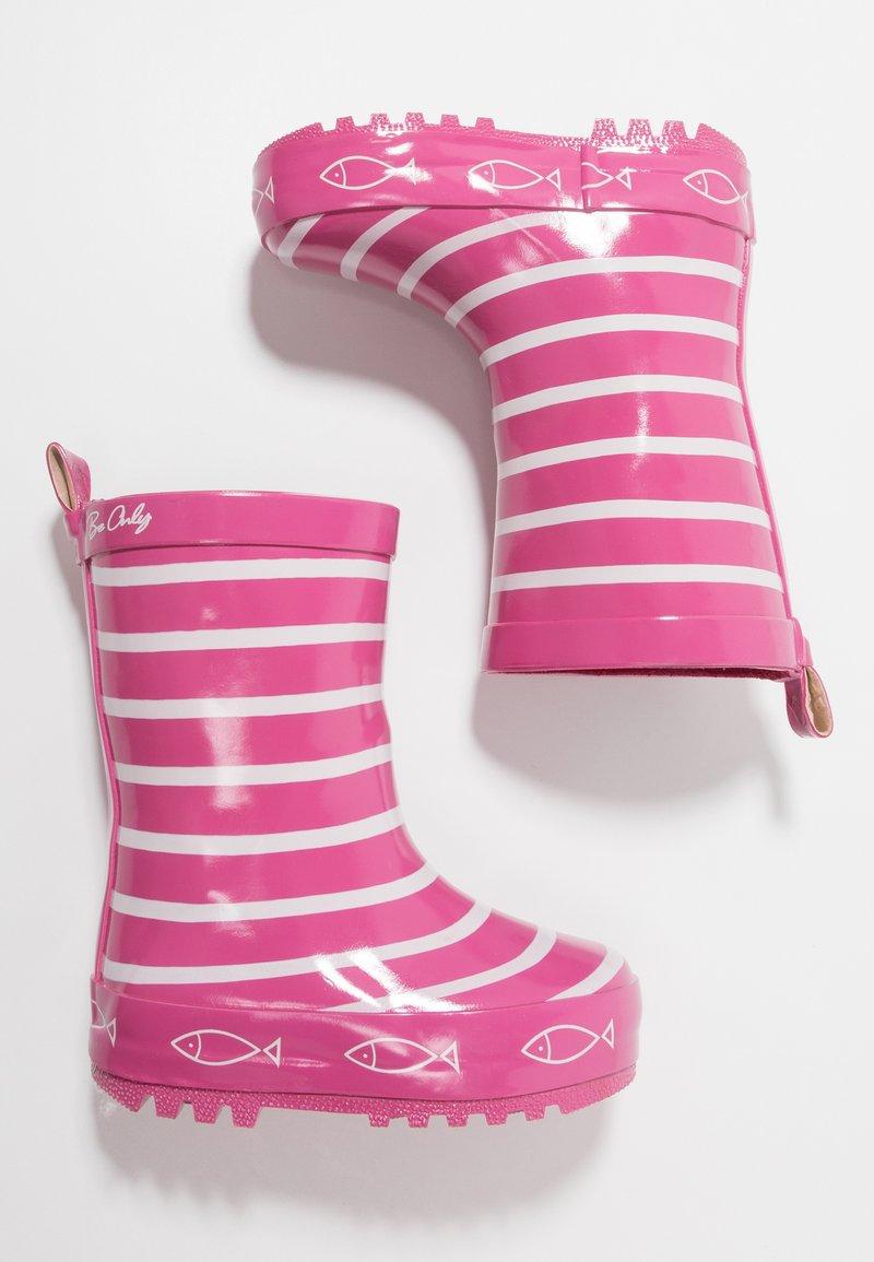 Be Only - TIMOUSS SANGRIA - Bottes en caoutchouc - pink