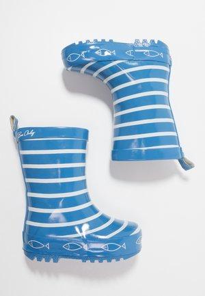 TIMOUSS - Bottes en caoutchouc - blue