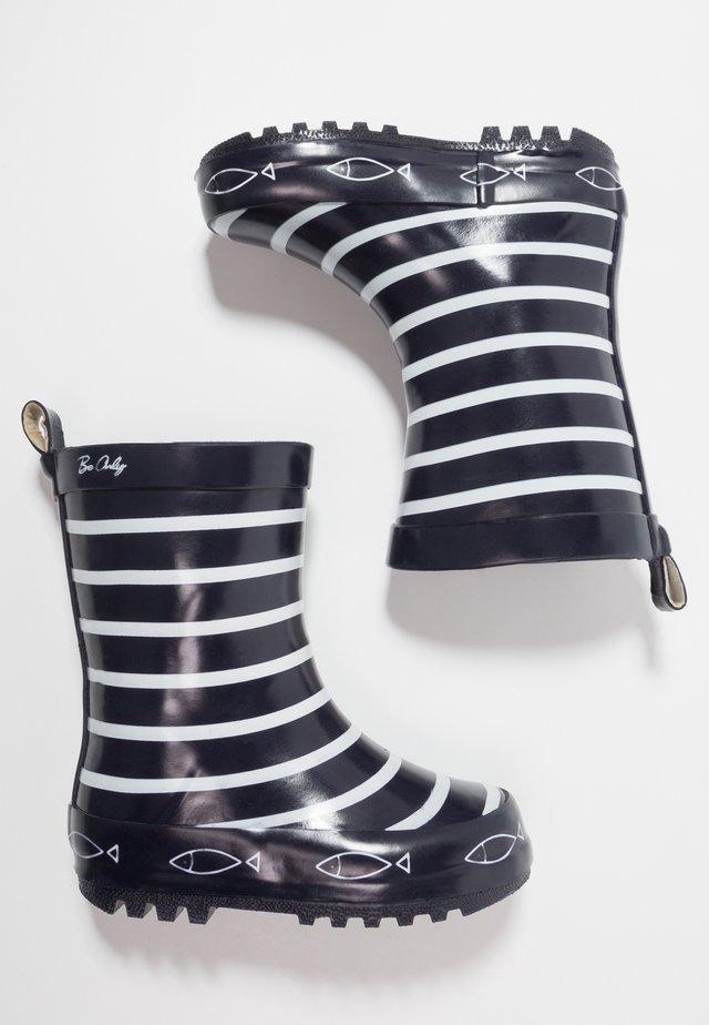 TIMOUSS - Stivali di gomma - blue