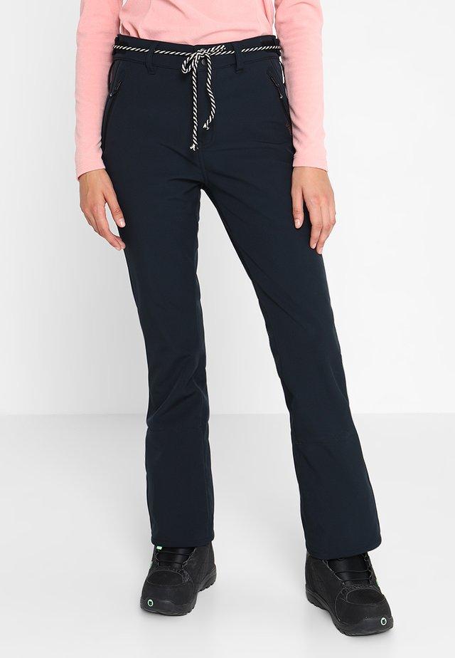 TAVORS  - Pantaloni da neve - black