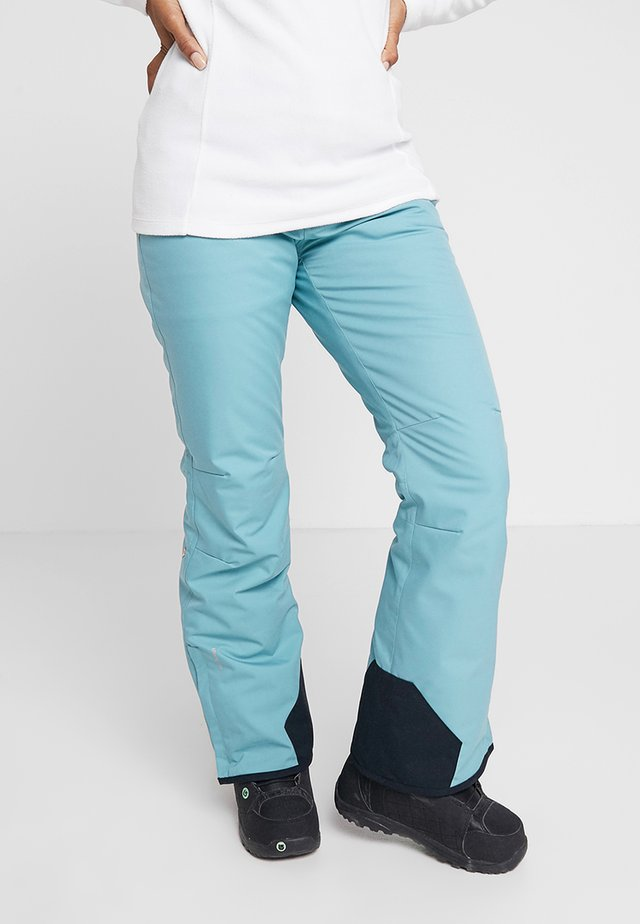 LAWN WOMEN SNOWPANTS - Pantalon de ski - polar blue