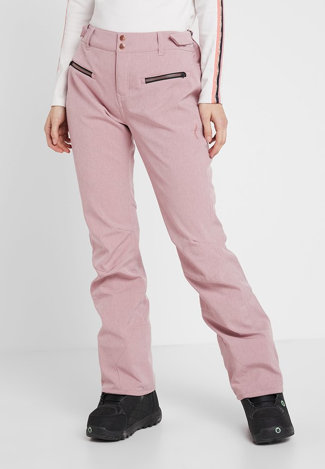 SILVERLAKE MELEE WOMEN PANT - Talvihousut - old rose