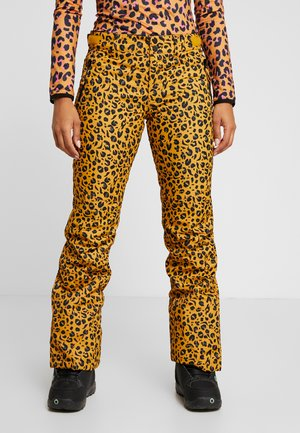 KAGU WOMEN SNOWPANTS - Skibroek - autumn yellow