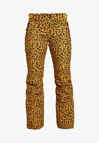Brunotti - KAGU WOMEN SNOWPANTS - Zimní kalhoty - autumn yellow - 3