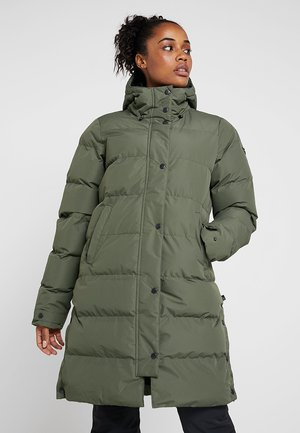 GADWELL WOMEN JACKET - Snowboardová bunda - beetle green