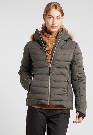 JACIANO WOMEN SNOWJACKET - Snowboard jacket - pine/grey