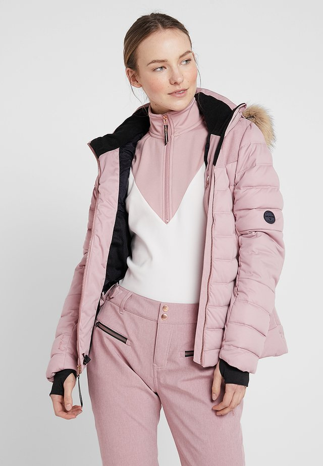 JACIANO WOMEN SNOWJACKET - Kurtka snowboardowa - old rose