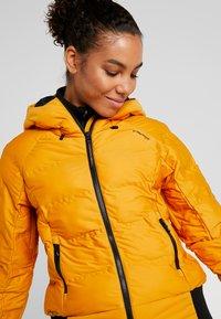 Brunotti - FIRECROWN WOMEN JACKET - Snowboardjas - autumn yellow - 3