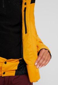 Brunotti - FIRECROWN WOMEN JACKET - Snowboardjas - autumn yellow - 4