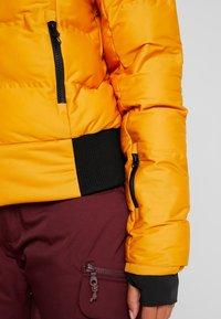 Brunotti - FIRECROWN WOMEN JACKET - Snowboardjas - autumn yellow - 6