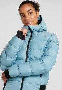 Brunotti - FIRECROWN WOMEN JACKET - Kurtka snowboardowa - polar blue - 3