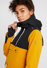Brunotti - FIREBACK WOMEN SNOWJACKET - Snowboard jacket - autumn yellow - 3