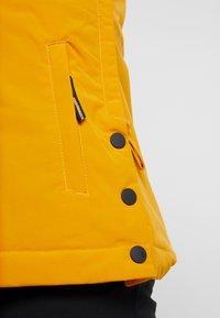 Brunotti - FIREBACK WOMEN SNOWJACKET - Snowboard jacket - autumn yellow - 5
