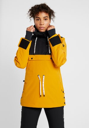 FIREBACK WOMEN SNOWJACKET - Giacca da snowboard - autumn yellow