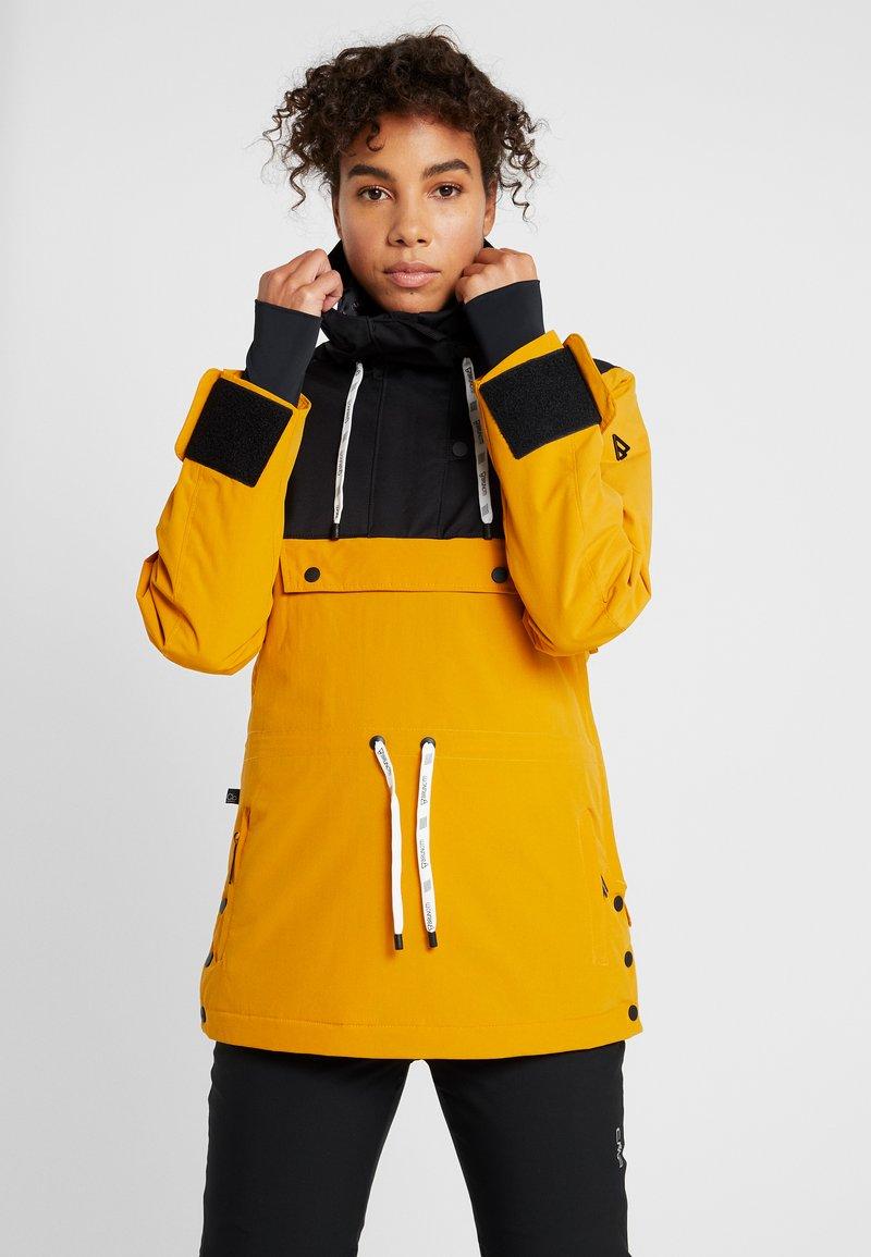 Brunotti - FIREBACK WOMEN SNOWJACKET - Snowboard jacket - autumn yellow