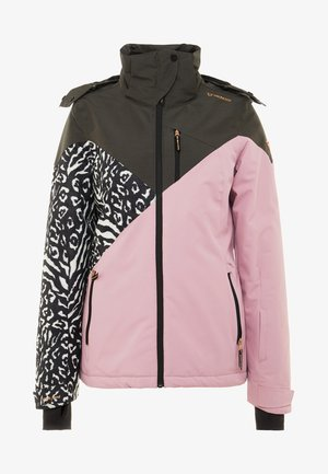 SHEERWATER WOMEN SNOWJACKET - Snowboardová bunda - old rose