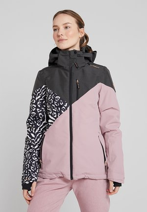 SHEERWATER WOMEN SNOWJACKET - Kurtka snowboardowa - old rose