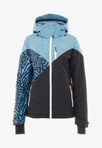 SHEERWATER WOMEN SNOWJACKET - Snowboard jacket - polar blue