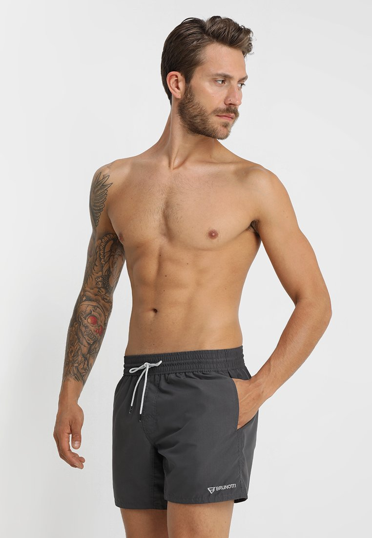Brunotti - CRUNOT - Swimming shorts - iron
