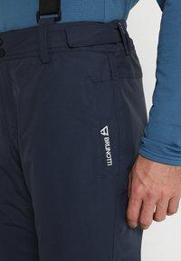 Brunotti - FOOTSTRAP MEN SNOWPANTS - Snow pants - space blue - 4