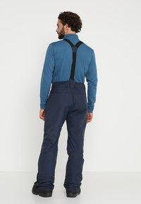Brunotti - FOOTSTRAP MEN SNOWPANTS - Snow pants - space blue - 2