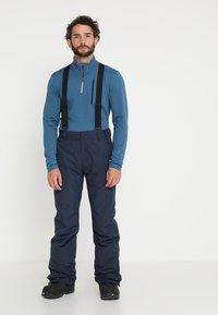 Brunotti - FOOTSTRAP MEN SNOWPANTS - Snow pants - space blue - 0