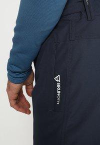 Brunotti - FOOTSTRAP MEN SNOWPANTS - Snow pants - space blue - 7