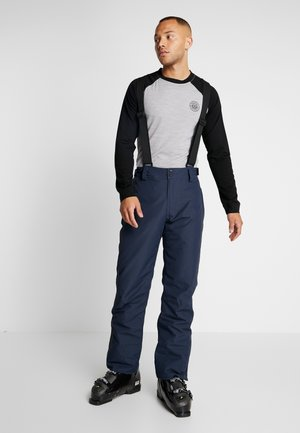FOOTSTRAP MEN SNOWPANTS - Schneehose - space blue