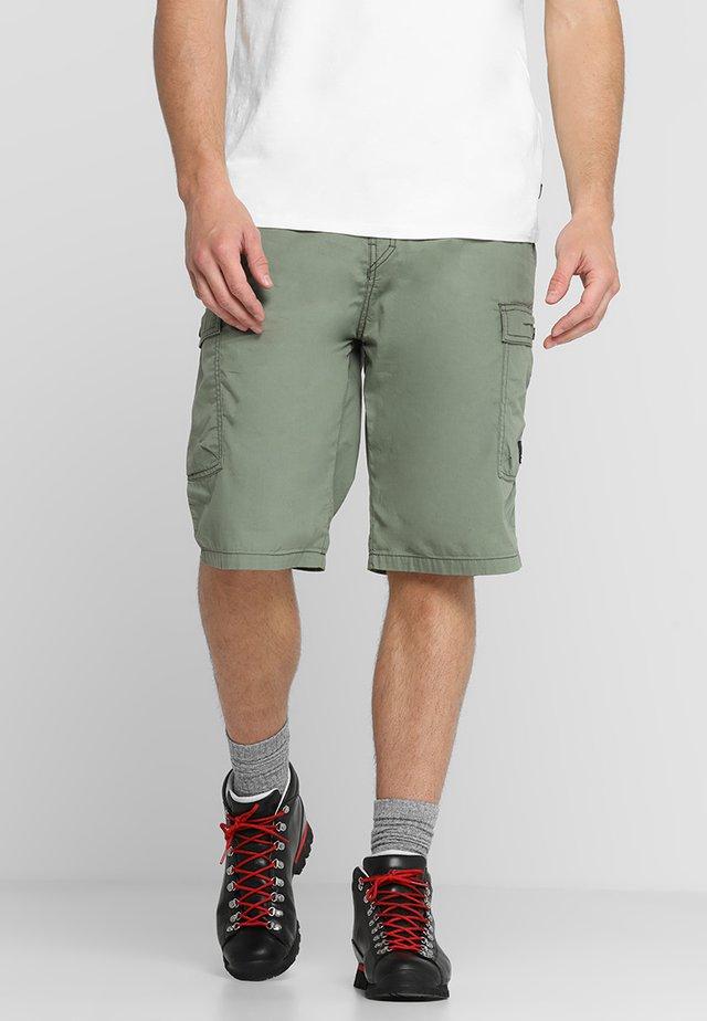 JACKAL - Pantalon cargo - vintage green