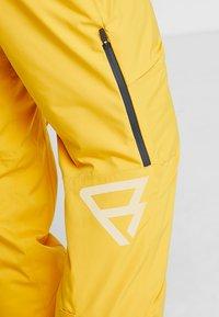 Brunotti - HYENA MENS SNOWPANTS - Snow pants - indian gold - 7