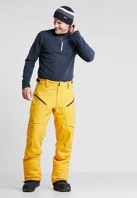 Brunotti - HYENA MENS SNOWPANTS - Snow pants - indian gold - 2