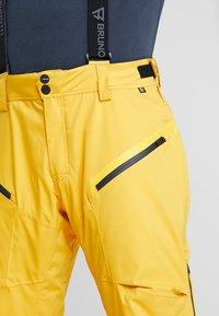 Brunotti - HYENA MENS SNOWPANTS - Snow pants - indian gold - 4