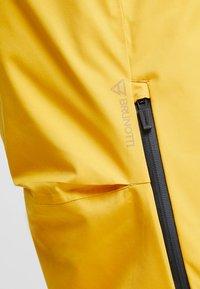Brunotti - HYENA MENS SNOWPANTS - Snow pants - indian gold - 11