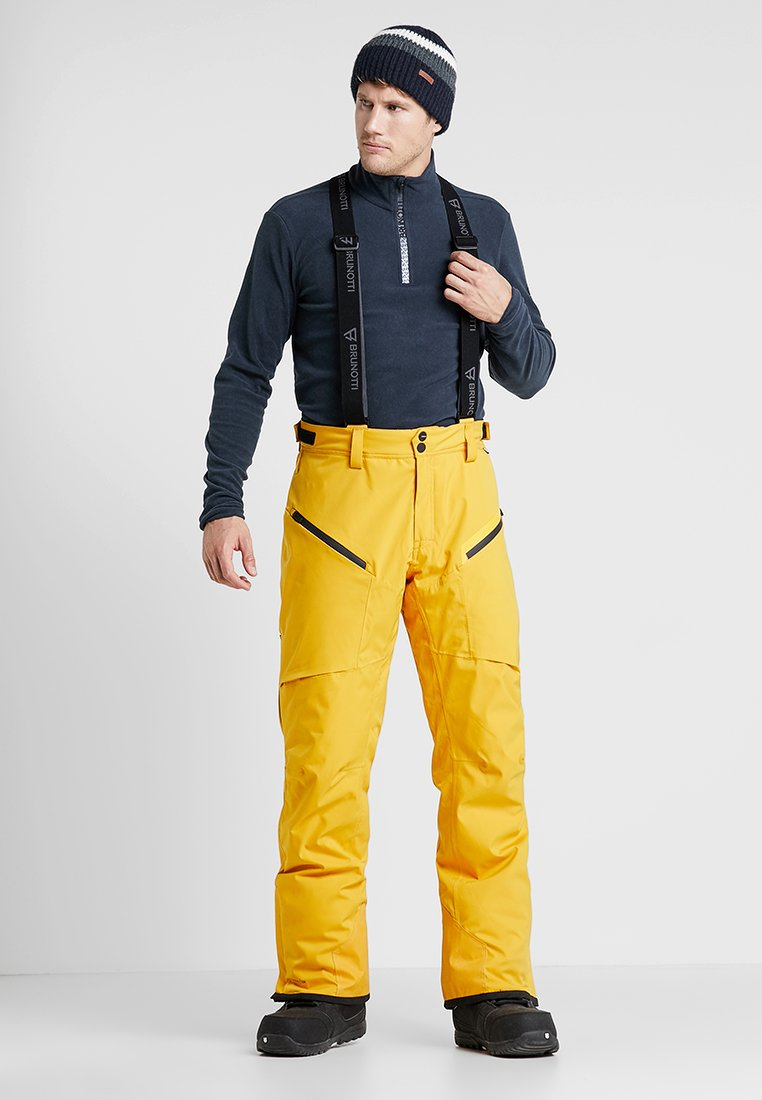 Brunotti - HYENA MENS SNOWPANTS - Snow pants - indian gold