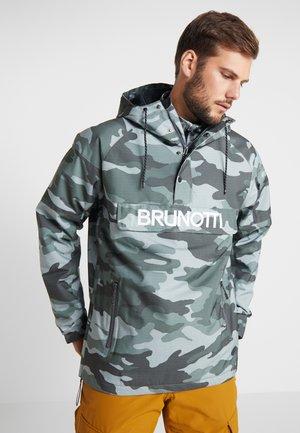 KINGERS MENS JACKET - Snowboard jacket - titanium