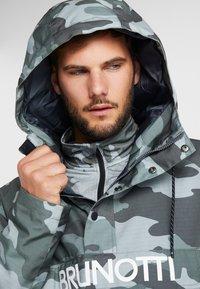 Brunotti - KINGERS MENS JACKET - Snowboard jacket - titanium - 3