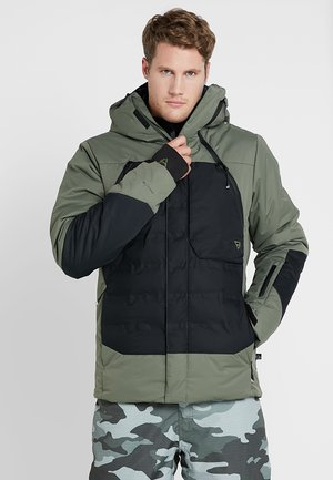 SPARK MENS SNOWJACKET - Snowboard jacket - beetle green