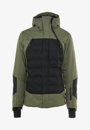 SPARK MENS SNOWJACKET - Laskettelutakki - beetle green
