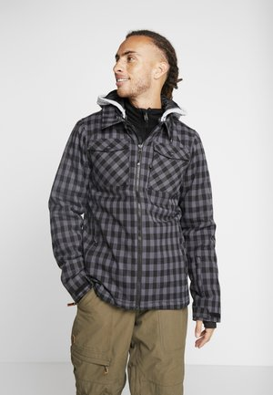 BURCHELL MENS SNOWJACKET - Snowboard jacket - black