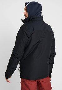Brunotti - GLEASON MENS SNOWJACKET - Snowboardová bunda - black - 3