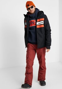 Brunotti - GLEASON MENS SNOWJACKET - Snowboardová bunda - black - 1