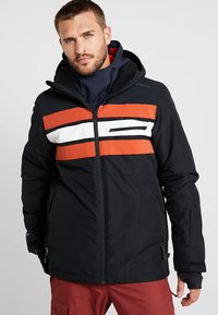 Brunotti - GLEASON MENS SNOWJACKET - Snowboardová bunda - black - 0