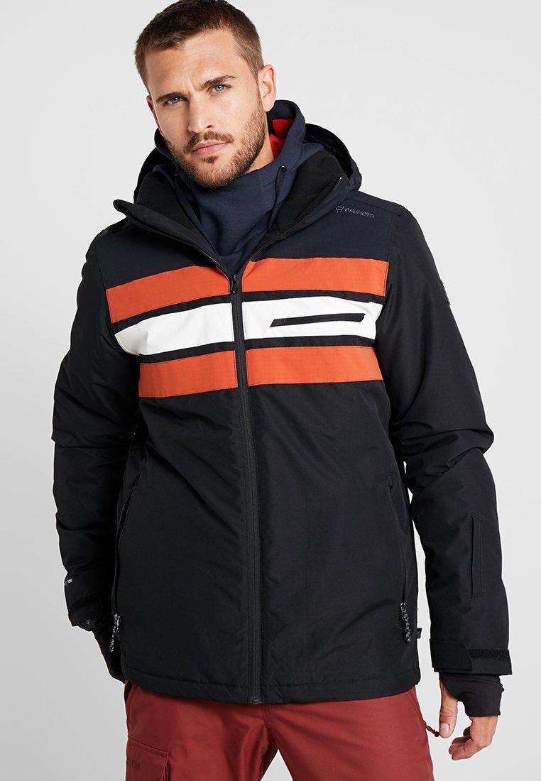 Brunotti - GLEASON MENS SNOWJACKET - Snowboardová bunda - black