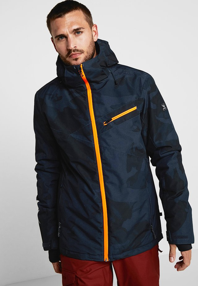 PANDER MENS - Snowboard jacket - space blue