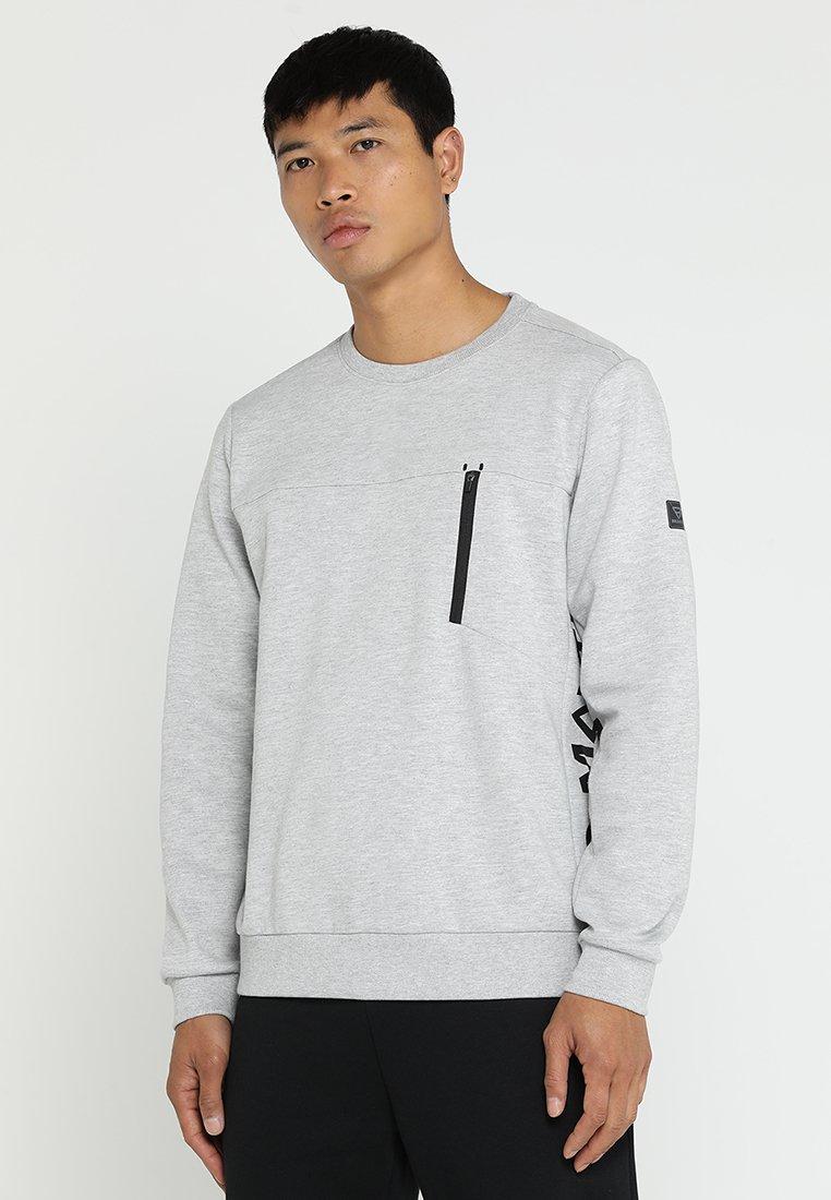 Brunotti - SIDECAR - Sweatshirt - light chip melee