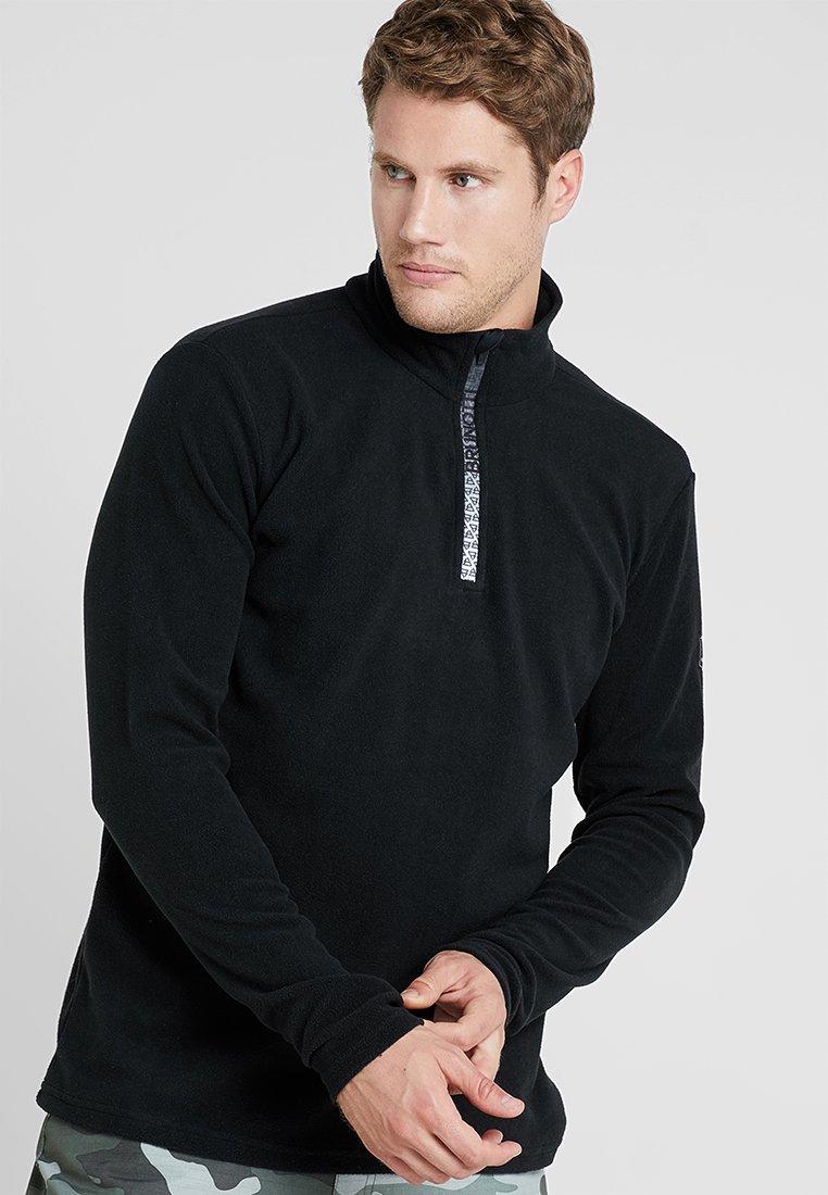 Brunotti - TENNO MENS  - Fleece jumper - black