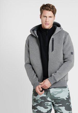STAGHORN MENS JACKET - veste en sweat zippée - mid grey melee