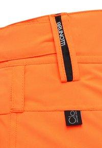 Brunotti - FOOTSTRAP SNOWPANTS - Talvihousut - fluorecent orange - 4