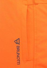 Brunotti - FOOTSTRAP SNOWPANTS - Talvihousut - fluorecent orange - 3