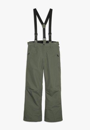 FOOTSTRAP BOYSSNOWPANTS - Zimní kalhoty - beetle green